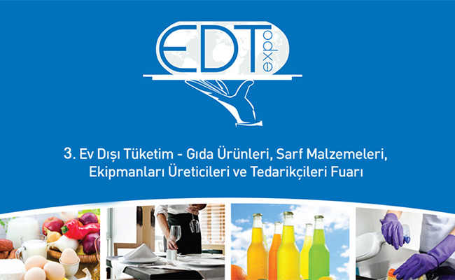 2015 EDT EXPOEv Dışı Tüketim Fuarındaydık