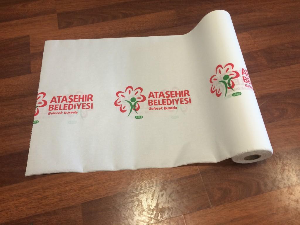 Ataşehir Belediyesi Kağıt Masa Örtüsü