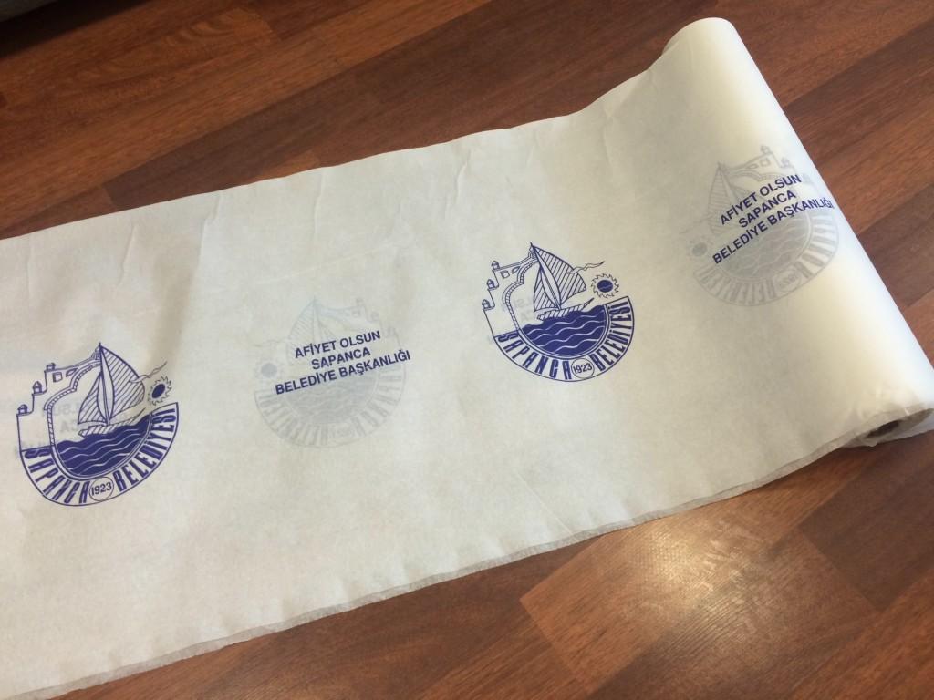 Sapanca Belediyesi Kağıt Masa Örtüsü