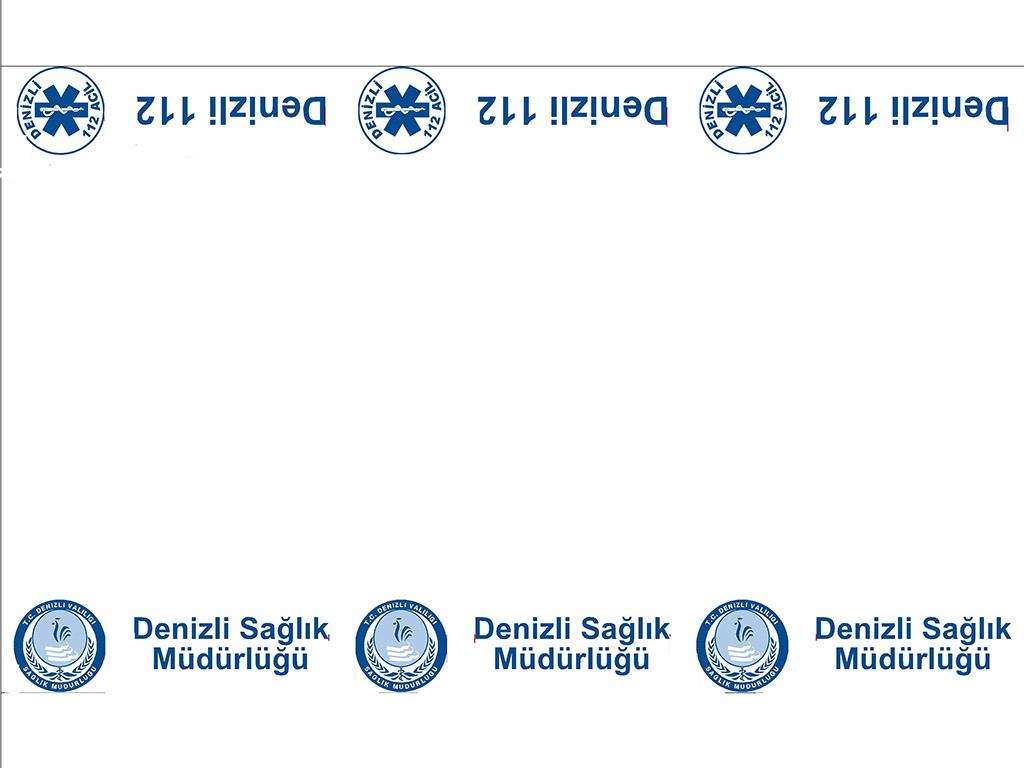 Denizli 112 Acil Muayene Masa Örtüsü